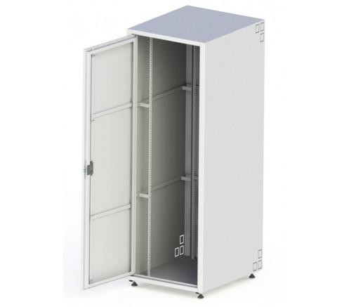 """Шкаф 19"""" антивандальный напольный 42U (700x820) IP31 фото"""