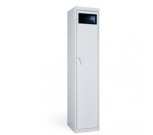 Шкаф одностворчатый для грязной одежды (380х450х1820) фото