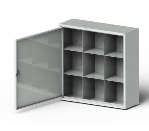 Шкаф для хранения СИЗ 9 ячеек (600х600х200) фото