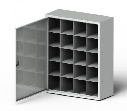 Шкаф для хранения СИЗ 20 ячеек (750х600х250) фото