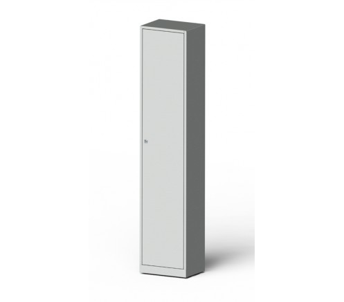 Шкаф для хранения СИЗ (противогазов) 6 ячеек (1420х300х400) фото