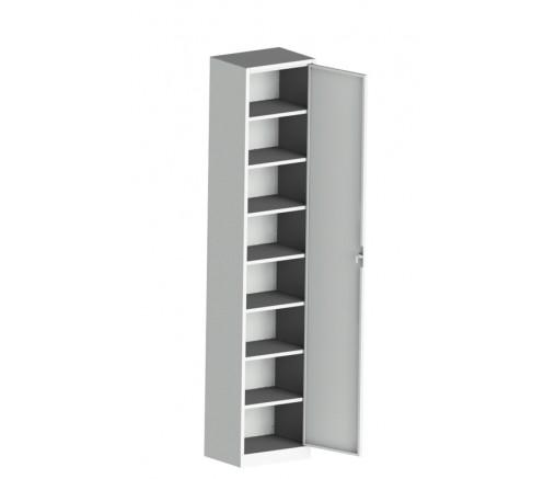 Шкаф для хранения СИЗ (противогазов) 8 ячеек (1870х300х400) фото