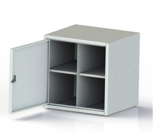 Шкаф для хранения СИЗ (противогазов) 4 ячейки (450х450х400) фото