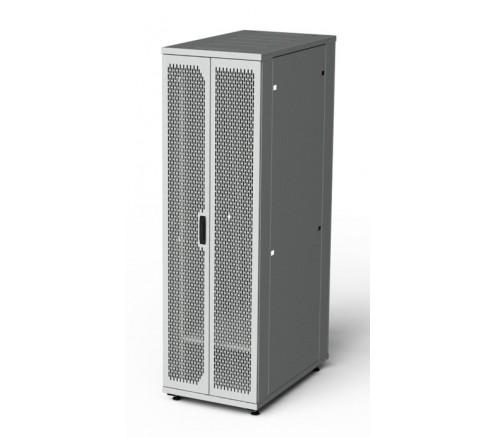 Шкаф напольный серверный 47U 800x1000 дверь перфорированная фото