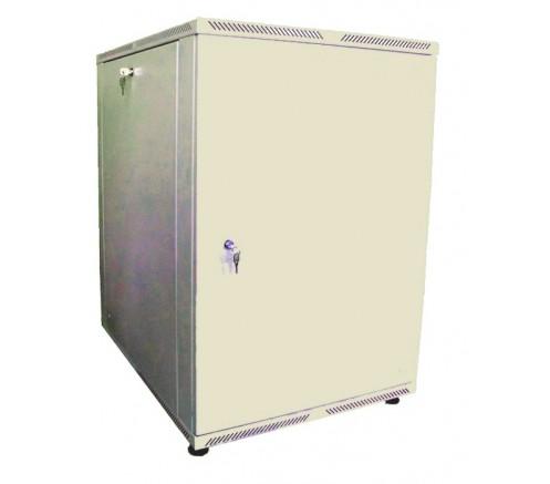 Шкаф телекоммуникационный настенный 15U (600x450) дверь металл фото