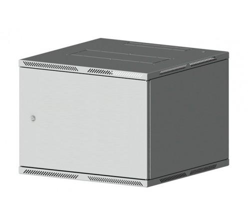 """Шкаф 19"""" настенный Lite 12U (600x350) дверь металл фото"""