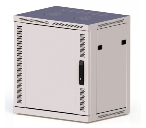 Шкаф телекоммуникационный настенный 18U ПРЕМИУМ (600х350х901) дверь металл фото