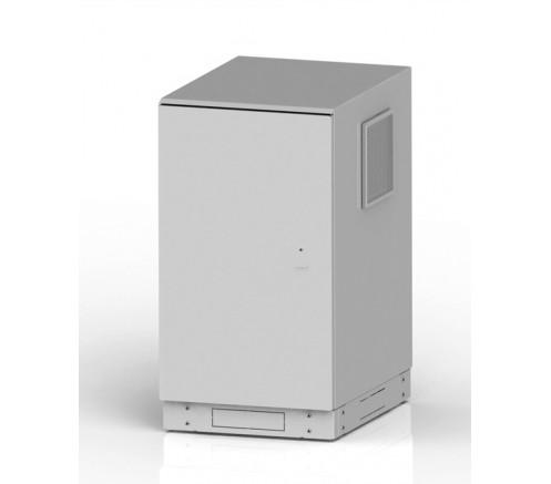 "Шкаф климатический всепогодный 19"" 28U (650х700х1375) IP54 фото"
