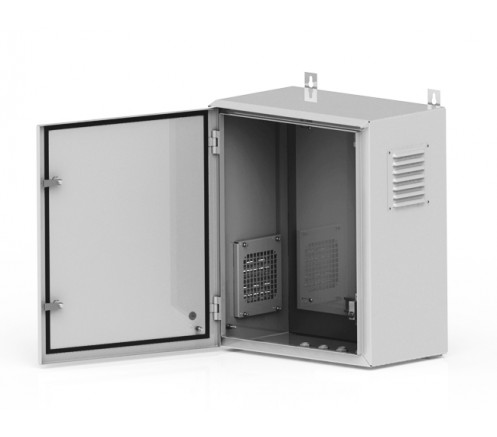 Термошкаф уличный настенный 400х450х700 IP54 фото