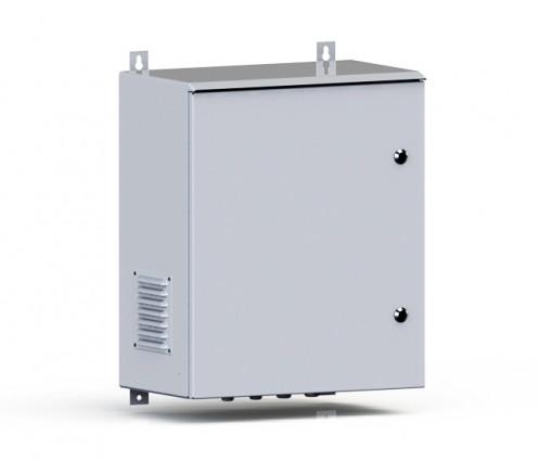 Термошкаф уличный настенный 400х350х600 IP54 фото