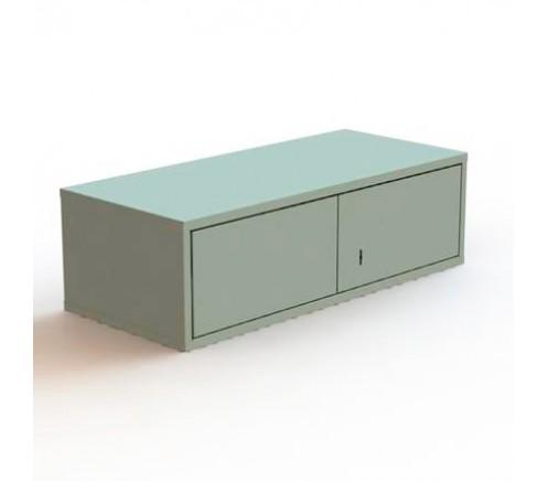 Шкаф для хранения СИЗ на 4 ячейки (260х870х400) фото