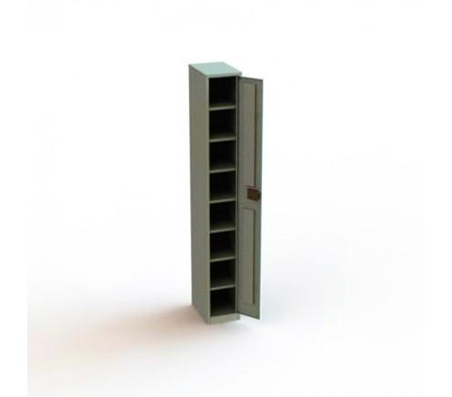 Шкаф для хранения СИЗ на 8 ячеек (1900х300х400) фото