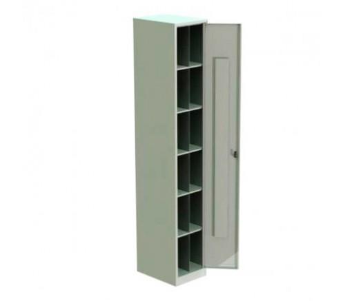 Шкаф для хранения СИЗ на 12 ячеек (1800х350х400) фото