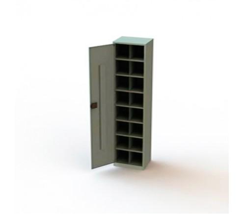 Шкаф для хранения СИЗ на 16 ячеек (1870х470х400) фото