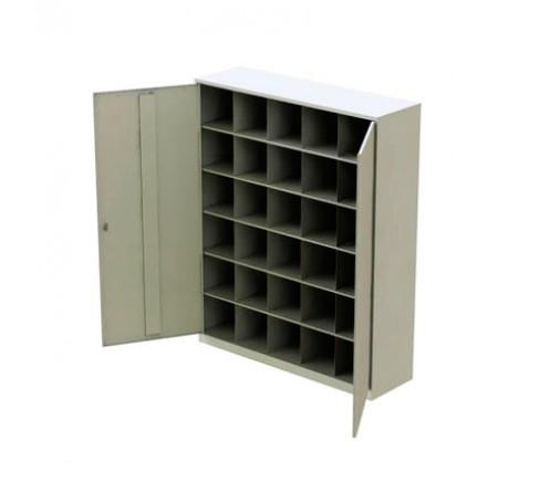 Шкаф для хранения СИЗ на 30 ячеек (1600х1300х400) фото