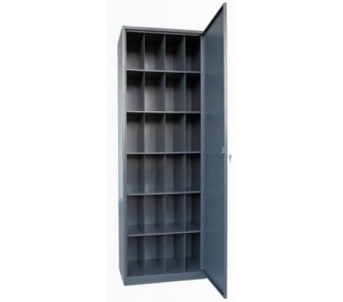 Шкаф для хранения СИЗ на 24 ячейки (1800х600х400) фото