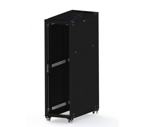 Шкаф телекоммуникационный серверный 42U (600x1000) двери перфорированные фото
