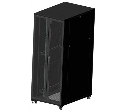 Шкаф телекоммуникационный серверный 42U (800x1200) двери перфорированные фото