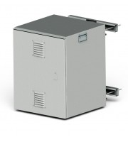 """Шкаф климатический всепогодный 19"""" 12U (650х600х635) IP54 купить в интернет-магазине с доставкой"""