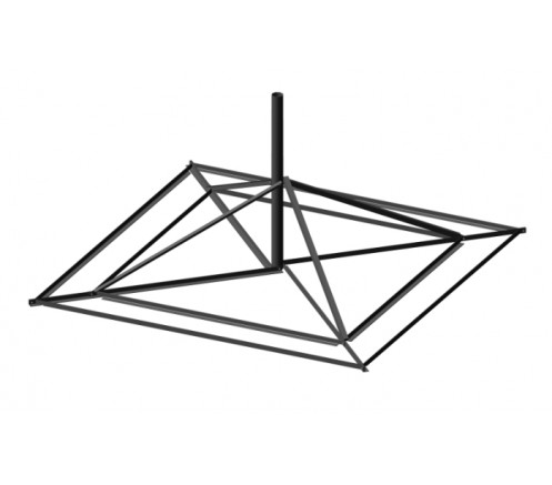 Опора на плоскую поверхность для антенны 1,8м  (ОПП-1,8-140КР-01) фото