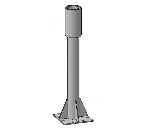 Опора на плоскую поверхность для антенны 1,8м (ОФ-1,8-140) фото