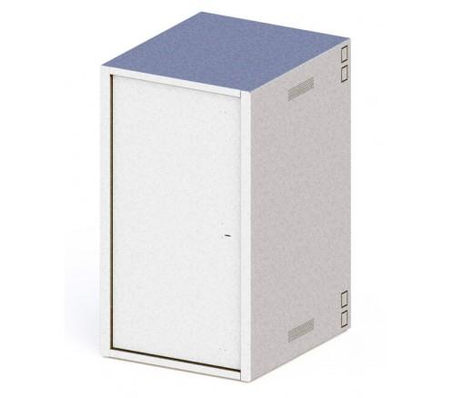 """Шкаф 19"""" антивандальный напольный 24U (600x600) IP31 фото"""