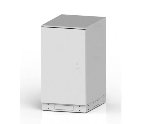 """Шкаф 19"""" антивандальный напольный 28U (600x700) IP54 фото"""