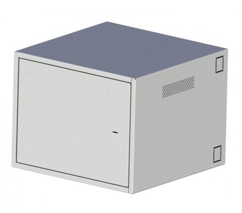 """Шкаф 19"""" антивандальный настенный 9U (600x350) IP31 фото"""
