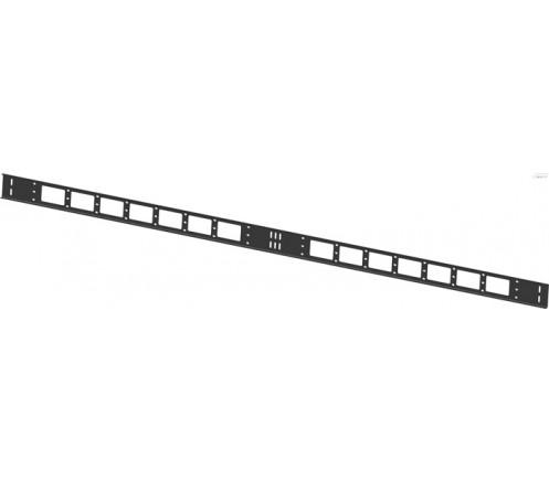 Кабельный органайзер вертикальный 42U ширина 75мм фото